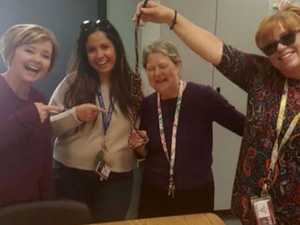 Teachers in hot water over sick photo