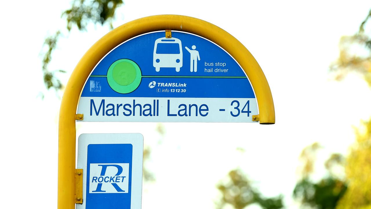Stop 34 on Marshall Lane, where Harlem Lack should have been dropped. Picture: AAP/David Clark