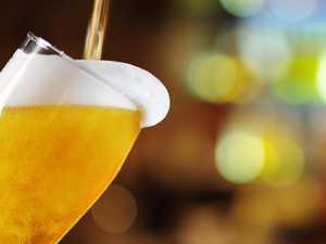 German truck spills 10,000 bottles of beer