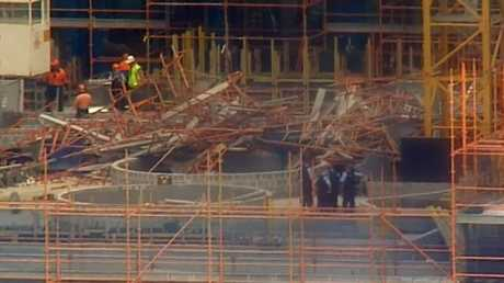 The tragedy happened at a building site in Macquarie Park. Picture: 60 Minutes