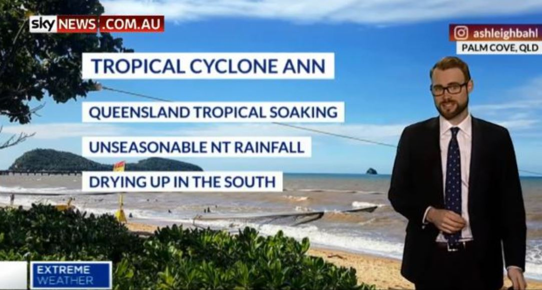 Out-of-season Cyclone Ann is heading for Queensland.
