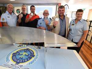 VMR Hervey Bay Keel Laying