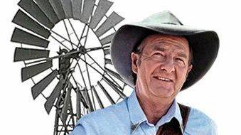 KING OF COUNTRY: Slim Dusty grew up as David Gordon Kirkpatrick at Nulla Nulla Creek.