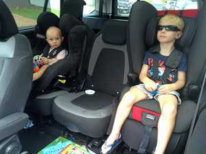 How long children should remain in booster seats