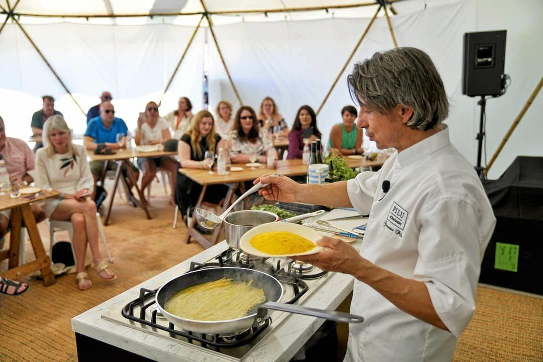 Learn a trick or two at a Noosa Food and Wine  masterclass, featuring some of the best chefs in the industry.