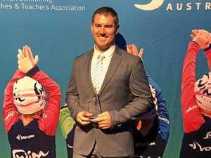 Swim instructor bestowed with prestigious honour