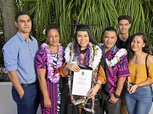 Law career awaits USQ grad after hard work