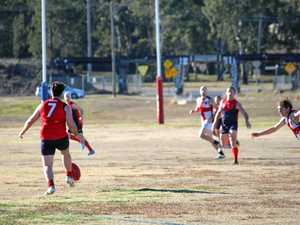 Redbacks hold on to maintain lead in AFLDD game