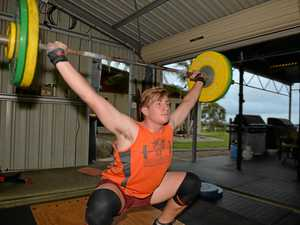 Teenage weightlifter gets a shot at Olympics selection