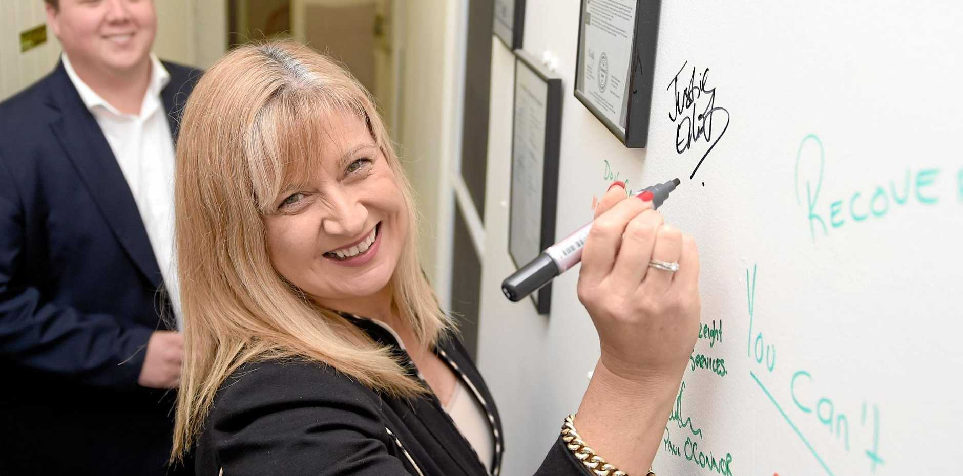 Justine Elliot on track to win seat of Richmond according to readers of the Tweed Daily News.