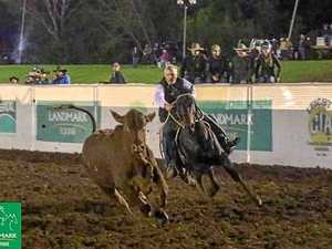 Landmark campdraft victory for young stock agent