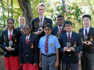 Numbers add up for students as school sweeps CQ maths comp