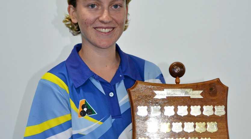 Isabella Reckenberg secures championship.