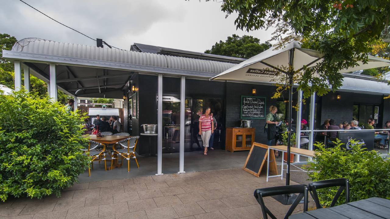 The front veranda at Emeraude. Picture David Martinelli