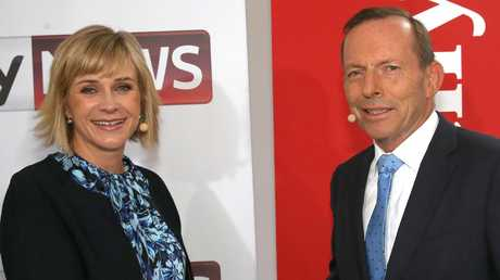 Warringah candidates Tony Abbott and Zali Steggall will go head to head on Saturday. Picture: Damian Shaw