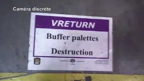 Unsold, often pristine items are sent to so-called 'destruction zones'. Picture: RTL.FR