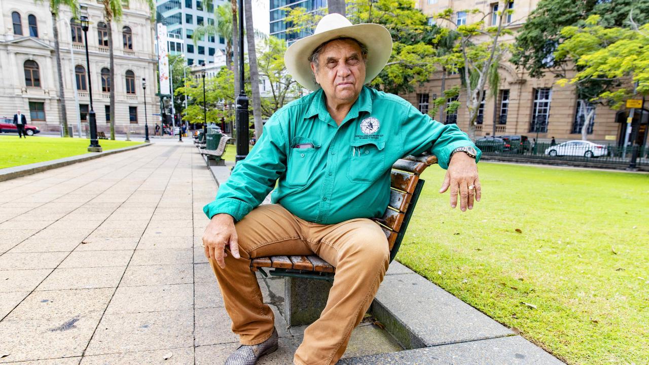 Aboriginal elder Colin McLennan. Picture: Richard Walker/AAP