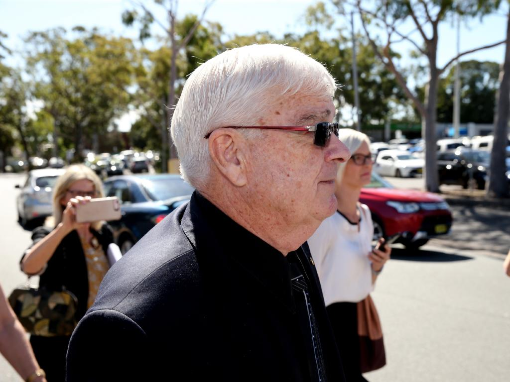 Senator Brian Burston at Toronto Court, Newcastle, in April. Picture: Peter Lorimer.