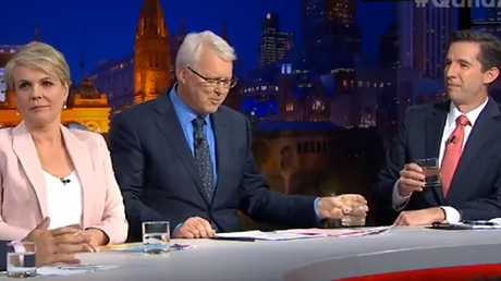 The leaders argued about their parties' preference deals on Monday night's Q&A program.