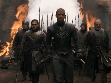 Into the breach ... the walls of Kings Landing could not repel the armies of the north.  Picture: Supplied/ HBO