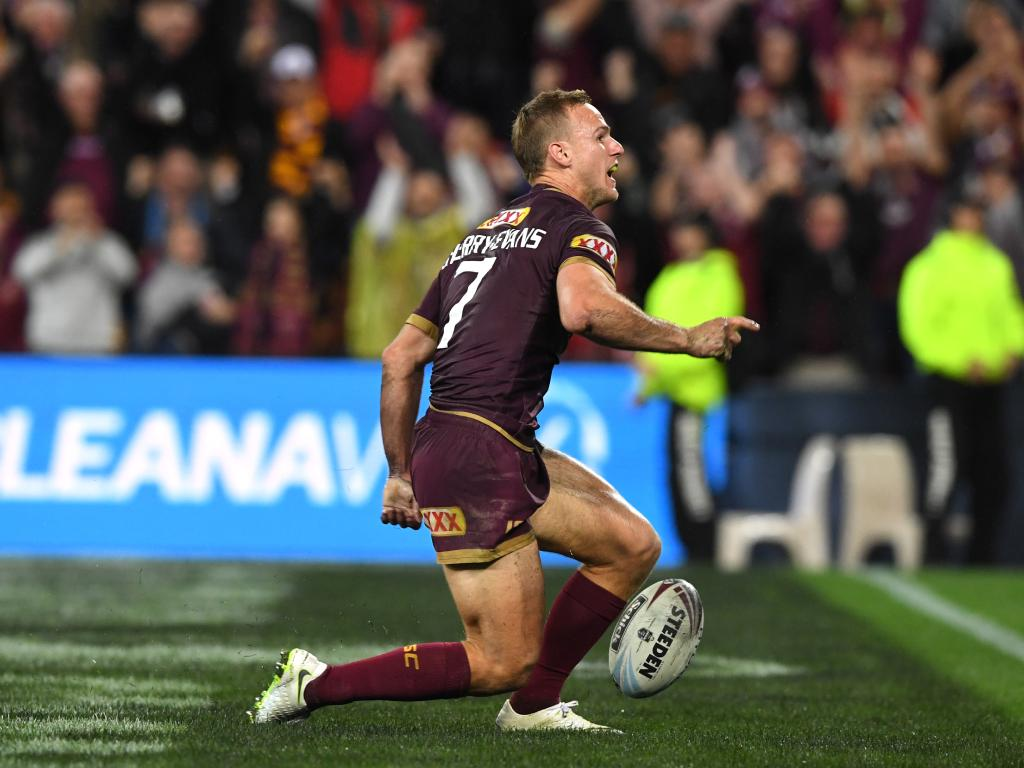 Daly Cherry-Evans is the man who should captain the Maroons according to Mark Coyne. Picture: AAP Image/Dave Hunt