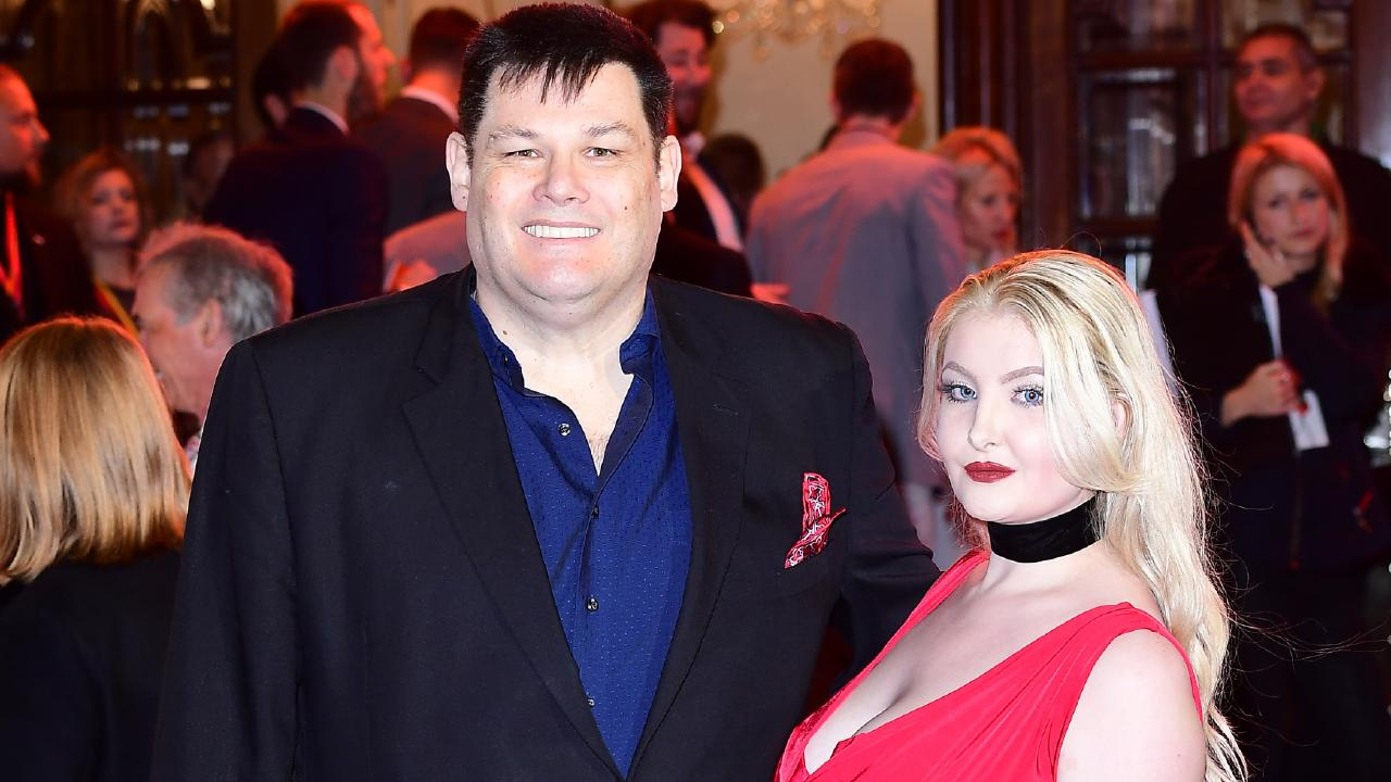 Mark Labbett and Katie Labbett attending the ITV Gala in 2017.