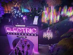 Samsung electric playground to light up Vivid festival