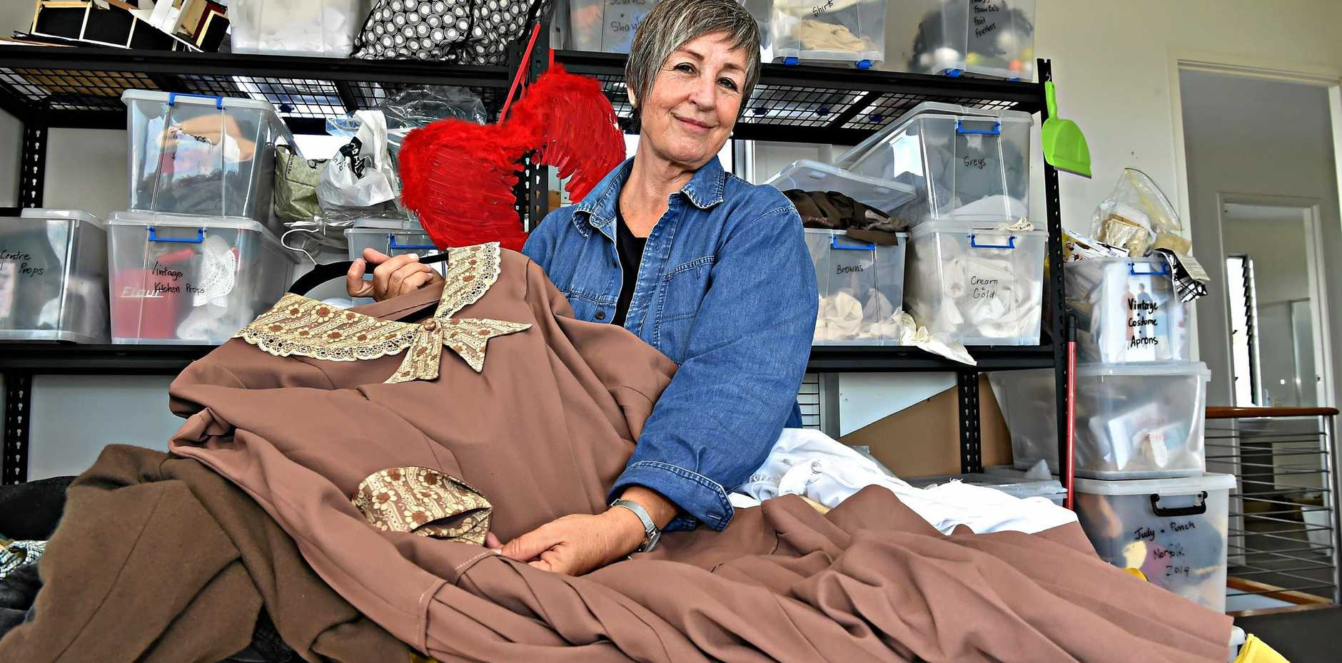 SEWING STAR: Anne Grant has been busy making costumes for the theatre world.
