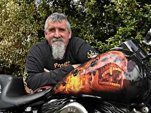 Flaming Harley to rev up crowds at Palmwoods car show
