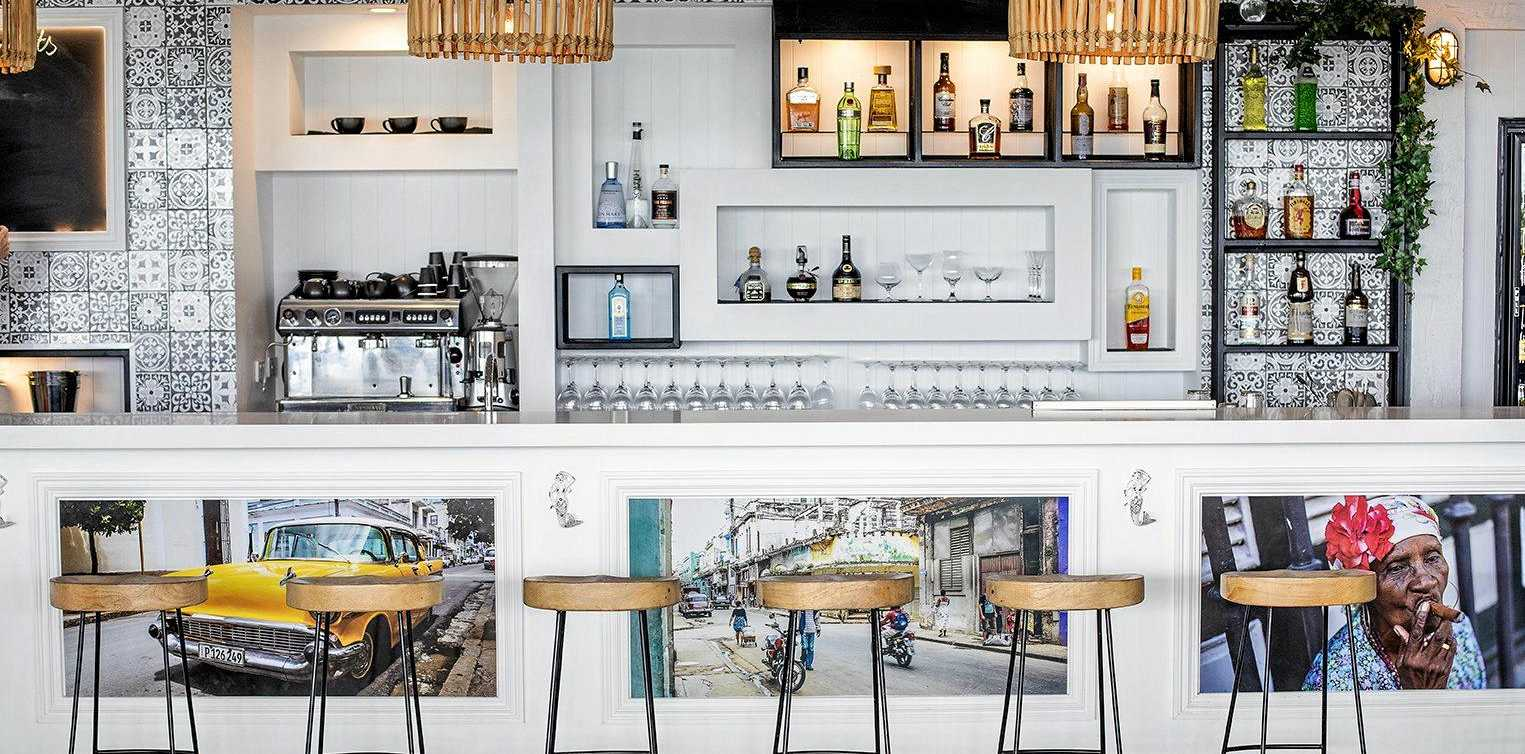 COCKTAILS: The Garden Bar Bistro is open, and punters can expect a laid-back, casual dining experience.