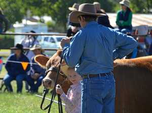 Five-year-old leads the way at Mundubbera Show