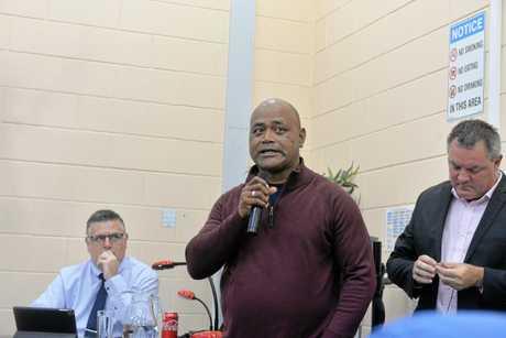 Hinkler Independent candidate Moe Turaga.