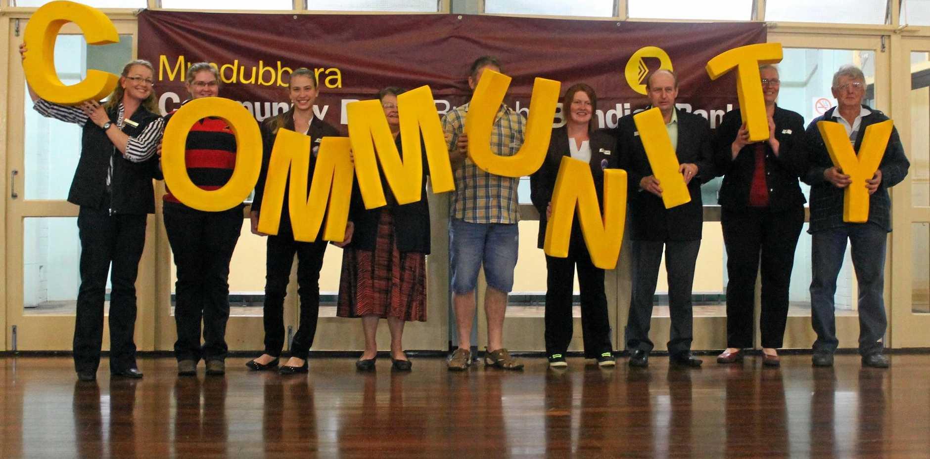 COMMUNITY SPIRIT: Residents take part in the last community forum in Mundubbera in 2013.