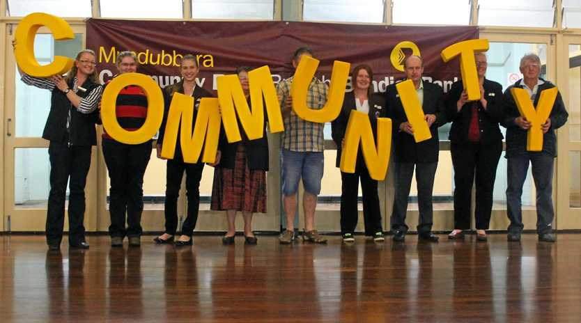 COMMUNITY SPIRIT: Residents take part in the last community forum in Mundubbera in 2013.