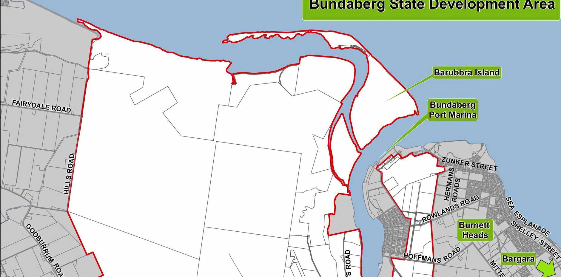 ECONOMIC BOOM: The Bundaberg SDA was declared in February this year and is one of 10 state development areas in Queensland.