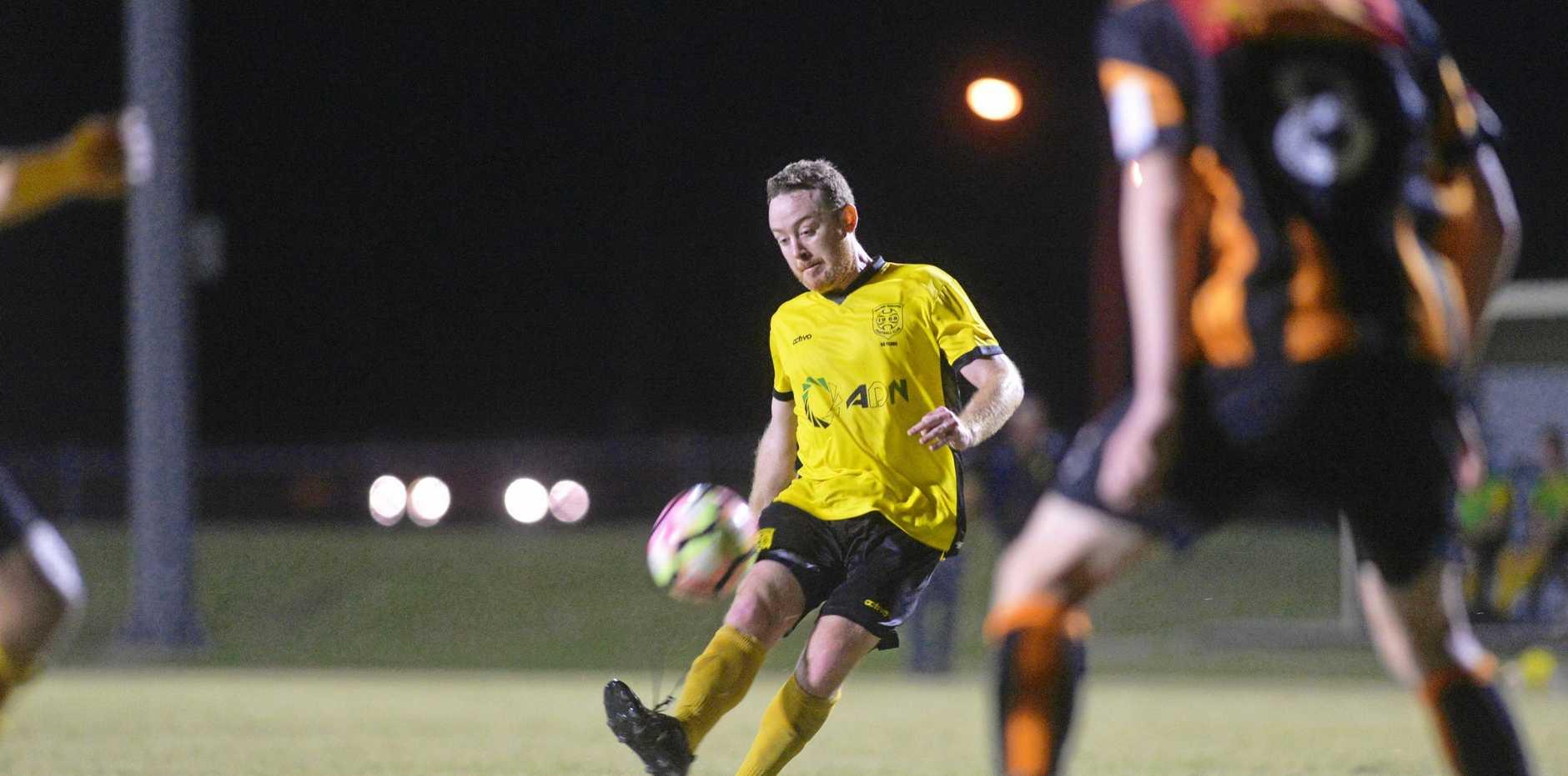 Mackay Rangers player Stu Watkins.