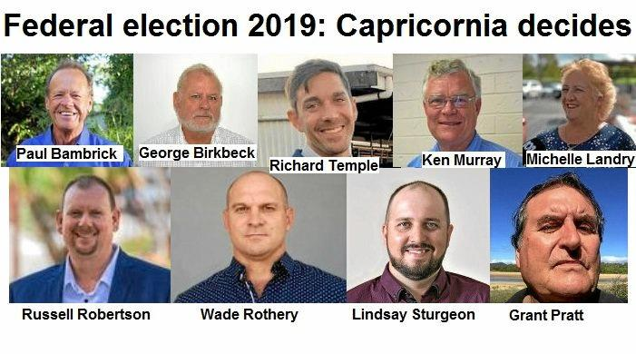 FEDERAL ELECTION: Six of the nine candidates contesting the upcoming federal election in Capricornia gave their feed back on improving outcomes for locals living with disabilities.