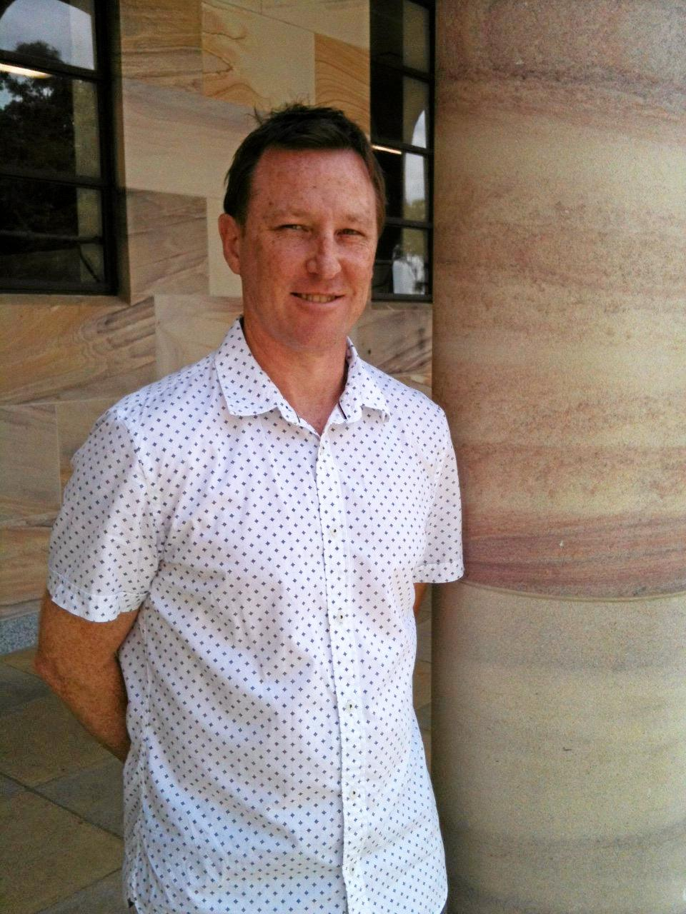 POLITICAL INSIGHTS: Political commentator and UQ lecturer Dr Chris Salisbury provided analysis on the closely contested seat of Capricornia.