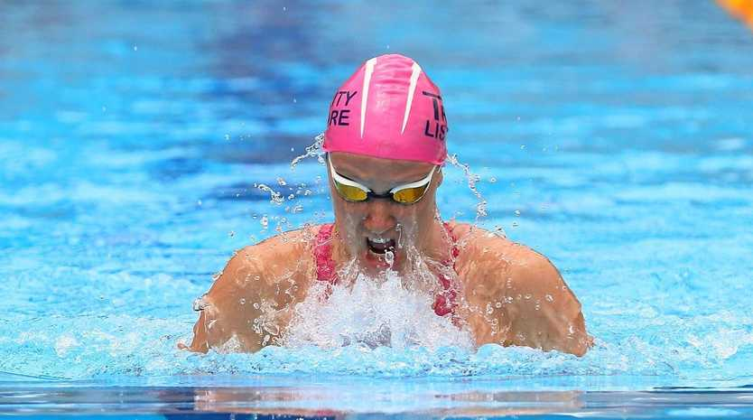 SILVER SQUAD: Lismore swimmer Tylah Crabtree has been selected in the NSW Sharks silver team.