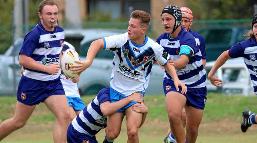 COUNTRY CALLING: Ballina centre Rowan Mansfield will play for NSW Country in an NRL curtain-raiser on Friday.