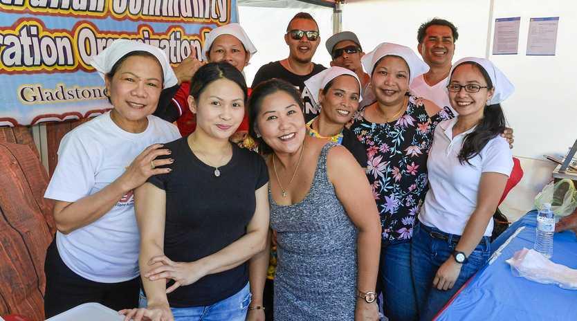 Filipino Australian Community Integration Organisation at the Gladstone Multicultural Association Festival Day, 2018.