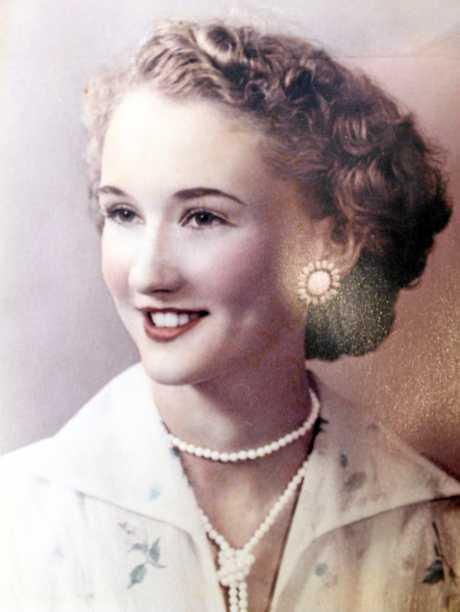 Judy Fischer as a teenager.