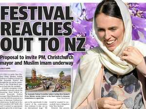 Jacaranda invites written for NZ PM, mayor, Muslim imam
