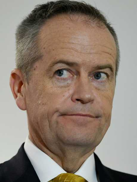 """Mr Morrison claims Mr Shorten used the emotions around the issue for a """"personal political gain"""". Picture: AAP Image/Lukas Coch"""