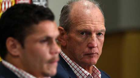Wayne Bennett knew Roberts needed support to stay on track. Image: AAP Image/Dan Peled