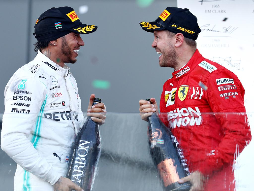 Will Hamilton and Vettel one day trade colours?