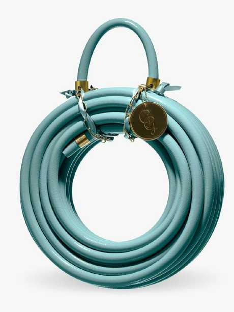 Sunday Society Luxe Garden Hose in carribean kiss ($159).