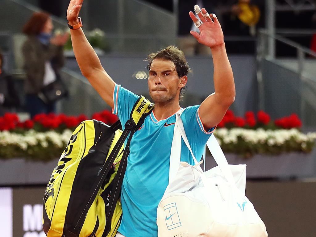 Rafael Nadal's French Open favouritism is slipping.