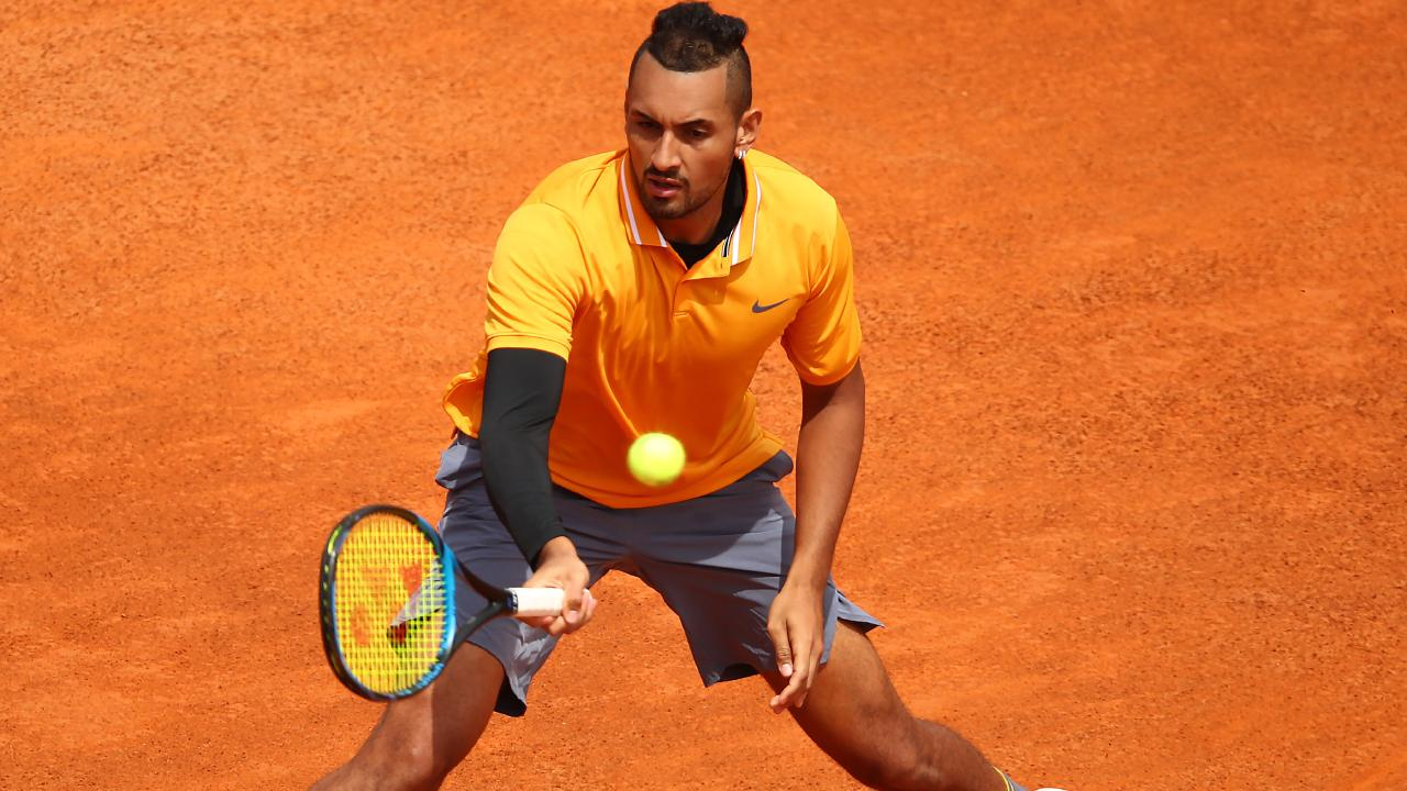 Nick Kyrgios was all class against Daniil Medvedev.