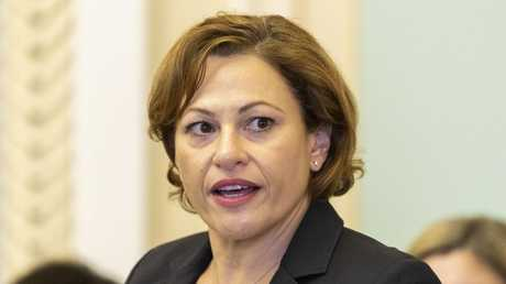 """Deputy Premier Jackie Trad has been meeting with Native Title holders in a bid to """"protect"""" their land from mining. Picture: AAP/Glenn Hunt"""